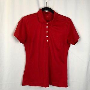 Nike Red Short Sleeve Shirt